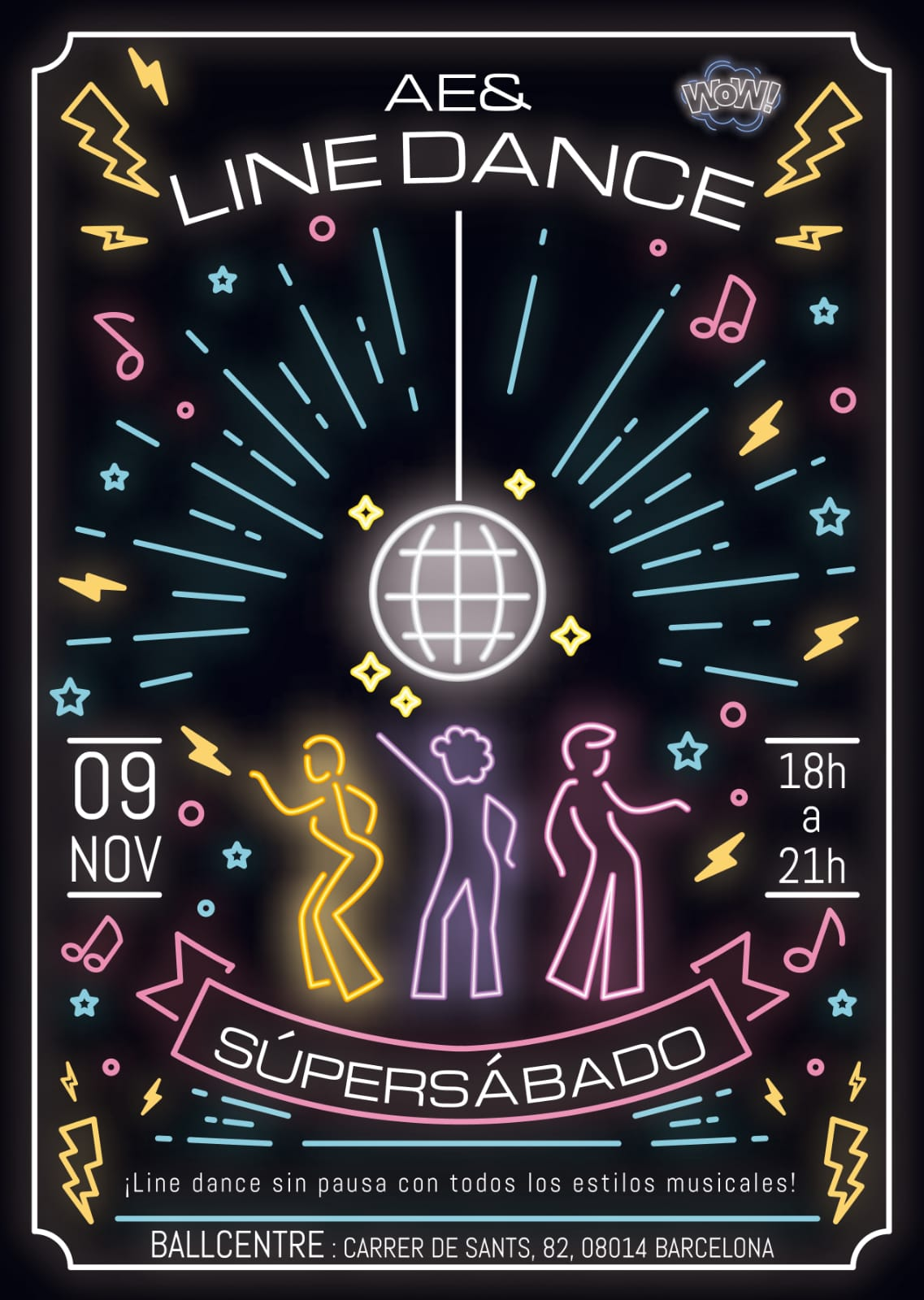 SUPER-DISSABTE Ball centre 9 nov 19